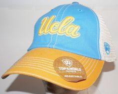 new product 48227 790eb UCLA CAP - SLOUCH HAT NCAA COLLEGE TEAM OEM TOP OF THE WORLD ONE SIZE  768353171340   eBay