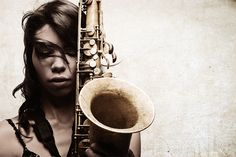 saxophonist Melissa Aldana