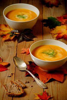 Seelenwärmer – Möhren-Fenchel-Suppe