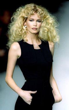 Claudia Schiffer, Tilda Swinton, 90s Fashion, Fashion Models, Fashion Outfits, Top Models, Brigitte Bardot, Ute Lemper, Original Supermodels