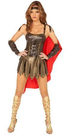 Spartan costume sexy warrior