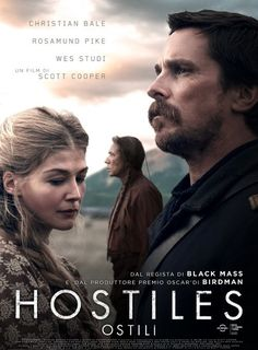 Hostiles - Ostili Film Guarda in Italiano Drama Movies, Hd Movies, Movies To Watch, Movies Online, Movies And Tv Shows, 2017 Movies, Netflix Movies, Christian Bale, Stephen Lang