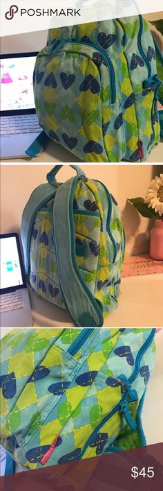 AGATHA RUIZ DE LA PRADA BACKPACK (FROM SPAIN) beautiful soft jean fabric, designer from Spain (Agatha Ruiz de la Prada), excellent used condition. Adjustable straps, padded back and straps. Can be used to stack on a suit case. Pocket in front and on the side. Jean fabric super sturdy. Color: blue and green. 💗Condition: EUC, No flaws, no rips, holes or stains 💗Smoke free home 💗No trades, No returns 💗Shipping next day 💗I LOVE OFFERS, offer me! 💗All transactions video recorded to ensure…