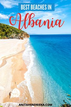 There's no doubt that Albania is a hidden gem in Europe, many people don't even know it exists!This is why I created the best Albania travel guide to the Albania beach destinations along the Albanian Riviera which includes Ksamil, Saranda, Vlore, Dhermi and more! Get to know some of the best places to visit in albania, things to do in albania, albania food recommendations and albania travel tips. Albania is a top balkan destination and best Europe vacation spot for the European summer! Albania Beach, Visit Albania, Albania Travel, Europe Travel Outfits, Europe Travel Guide, Travel Tips, Secluded Beach, European Summer, New Zealand Travel