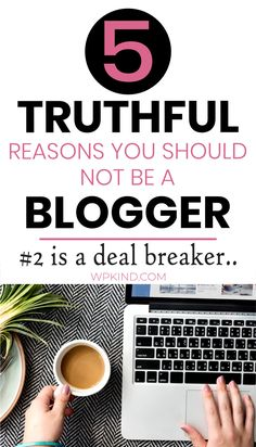 Thinking of starting a lifestyle blog, a travel blog, a craft blog, or you just want to blog about blogging for money? If you are thinking of beginning a new blog, you need to read my top five honest reasons why starting a blog may not be for you. Number 2 is the most surprising! #startablog #bloggingtips Learn Wordpress, Wordpress Plugins, How To Make Logo, How To Get Rich, Make Blog, How To Start A Blog, Blog Online, New Things To Learn, Blogging For Beginners