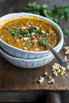 Red Lentil (Vadouvan) Curry Coconut Stew
