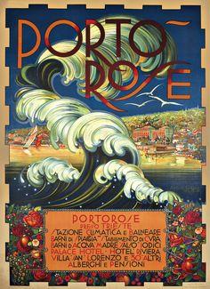 For me? 48x36?  Vintage Italian Posters ~ #Italian #vintage #posters ~ Manifesti Destiny