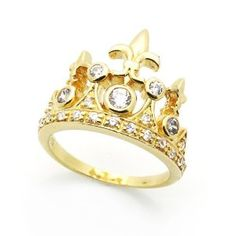 kinda loving the gold for a crown ring