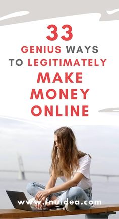 How To Make Money From Home Discover 33 Genius Ways to Legitimately Make Money Online Find out 33 legitimate ways to make money online. Check out these proven online business ideas start a successful online business and make extra money from home. Earn Money From Home, Earn Money Online, Make Money Blogging, Money Tips, Money Saving Tips, Make Easy Money, Way To Make Money, How To Make, Ways To Earn Money