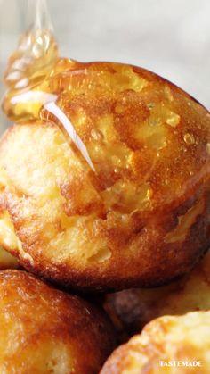 Fun Baking Recipes, Brunch Recipes, Cooking Recipes, French Food Recipes, Breakfast Dishes, Breakfast Recipes, Cheesy Recipes, Tiny Food, Köstliche Desserts