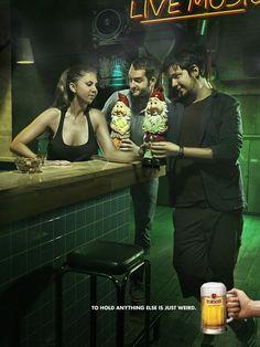 Adeevee - Borsodi Beer: Toast, Flirt and Counter