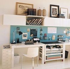 not that basic home office touch of colour decor basic home office