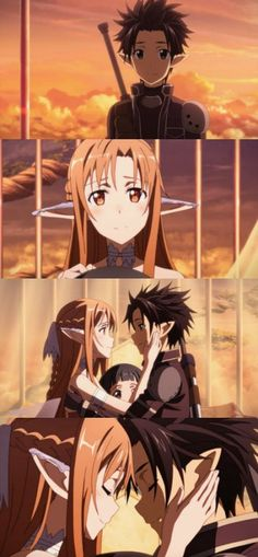 Kirito and Asuna are a true example of what true love should be. #SAO #ALO #TrueLove