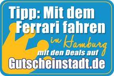 Mit dem #Ferrari fahren in #Hamburg mit #Gutscheinstadt