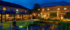 The restaurant is located in the barn which completed the quadrangle of farm buildings serving the former manor house. Best Of Ireland, Styling A Buffet, Ireland Homes, Cork Ireland, House Restaurant, Beautiful Places, Castle, Around The Worlds, Vacation