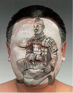 2009 FACE-2, Huang Yan (b1966, Jilin Province; multimedia artist, Taoist, and businessman based in Beijing)