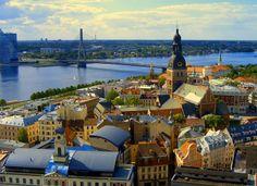 Riga, Letonia: Otra capital europea que no suele incluirse en los paquetes turísticos al Viejo Continente, pero que es considerada como el centro cultural, artístico y financiero del Mar Báltico