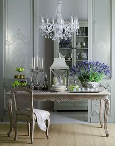 French Country Dining Room Table and Decor Ideas (19)