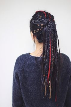 Fake dreadlocks for asian