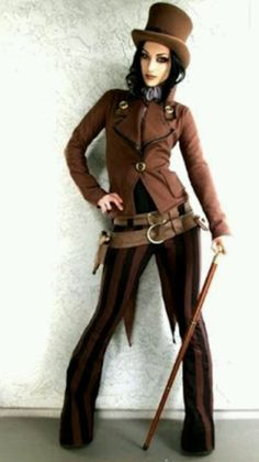 Mad hatter steampunk outfit
