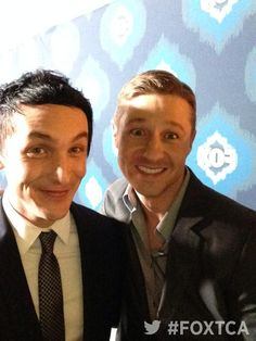 Robin Lord Taylor and Ben Mckenzie