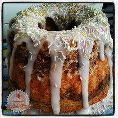 Citromos szelet (Lakodalmas sütemény) Pound Cakes, Doughnut, Eat, Food, Essen, Meals, Yemek, Pound Cake, Eten