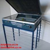 Handi Screen Exposure Unit with Vacuum and Screen Drying Rack