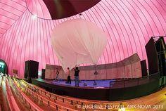 Sala de concertos inflável – Bem Legaus