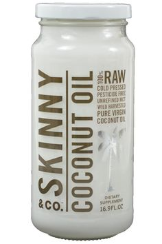 Cold pressed 100% pure, all-natural, and pesticide free raw coconut oil – Skinny Coconut Oil