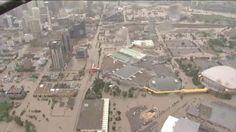 Raw Video:  Downtown Calgary flooding | Global News Video