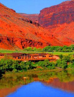 Red Cliffs Lodge near Castle Creek Winery in Moab, Utah