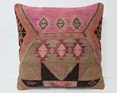 pastel kilim pillow 24x24 throw pillow set art pillow case oversize floor pillow kilim pillow set rustic pillow cover geometric pillow 26411