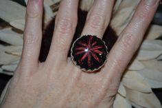 Ring gemalt aus Glas