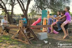 Treasure Yard & Home: An Adult-Sized Teeter-Totter (See-Saw)