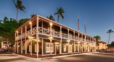 Best Western Pioneer Inn Lahaina In the heart of charming Lahaina Town on the beautiful island of Maui, this historic hotel offers a plantation-style atmosphere along with thoughtful amenities, only steps from scenic Lahaina Harbor.