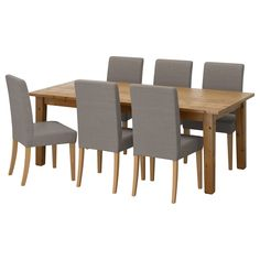 IKEA - STORNÄS / HENRIKSDAL, Table and 6 chairs
