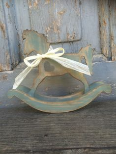 #horse #vintage #FidArt #vintage #shabbychic #woodenhorse #handmade