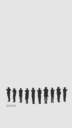 EXO Call Me Baby Silhouette | cr: ggaeal.tumblr.com