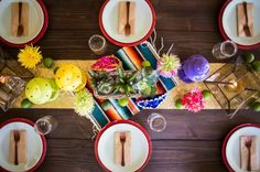 FIESTA THEMED ENGAGEMENT PARTY by Ashley dePencier Photography #Fiesta #mexicantheme