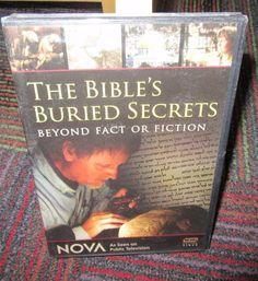 NIP NOVA - THE BIBLE'S BURIED SECRETS DVD, BEYOND FACT OR FICTION, ORIGINS, NEW