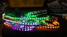 led strip lighting for motorcycles, cars, boats, ruckus, groms, etc.