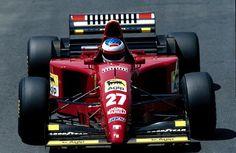 Jean Alesi, Ferrari 412T2, 1995 French GP, Magny-Cours