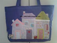 http://elbichofeo.blogspot.com borsa in tessuto con applicazioni - handmade