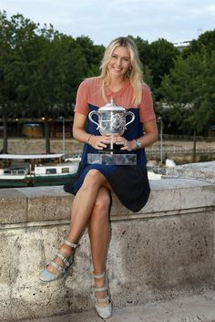 Maria Sharapova 2012 French Open Champion