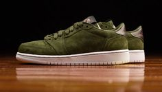 Look For The Air Jordan 1 Low Swooshless Legion Green Now