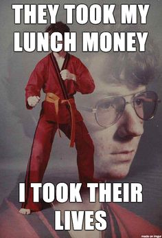 Karate Kyle strikes back #funny #funnyPicture #FunnyText #funnyVideo #funnyPost #funnyQuotes #FunnyStuff #FunnyAnimals #funnyJokes #FunnyThings #FunnyDogs #FunnyCats #FunnyKids #FunnyPeople #Funnypranks