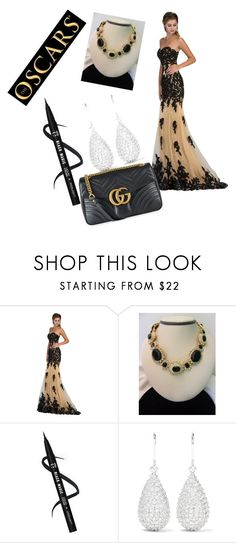 """""""Untitled #13"""" by kiley4sup ❤ liked on Polyvore featuring Kenneth Jay Lane and Gucci"""