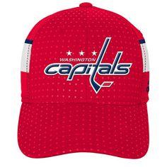 Youth Washington Capitals adidas Red 2017 Draft Flex Hat b705b82a032a