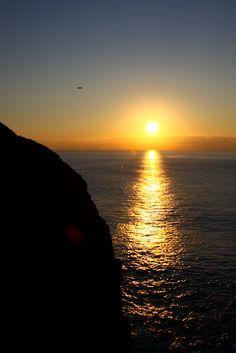 cabo de são vicente #sunset - #sagres #portugal #ocean #beach