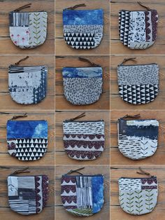 bookhou at home little patchwork purses